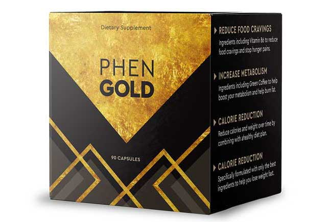 Boîte de Phen Gold